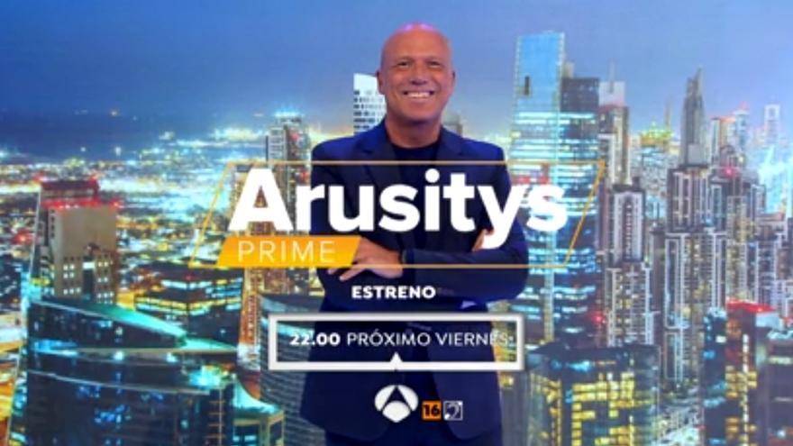 La promoción de 'Arusitys Prime' en Antena 3