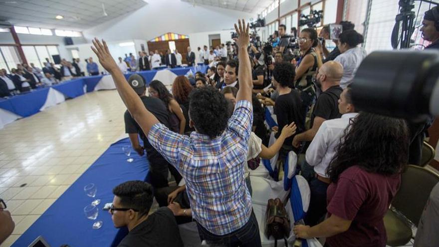 Nicaragua espera la segunda reunión de la mesa de diálogo en calma general