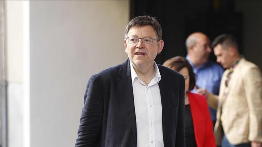 "Ximo Puig afirma que ""Pablo Iglesias no va a poner al presidente de la Generalitat"""