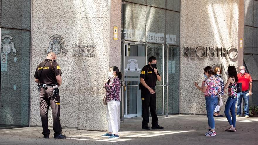 Ciudad de la Justicia en Las Palmas de Gran Canaria, con medidas para  mantener la distancia social