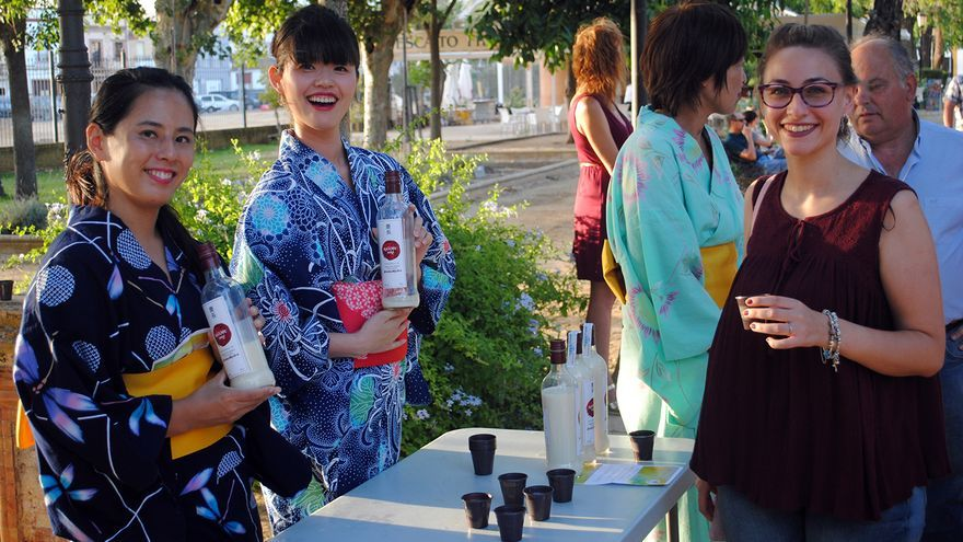 Arranca la aventura del 'sake andaluz'. |