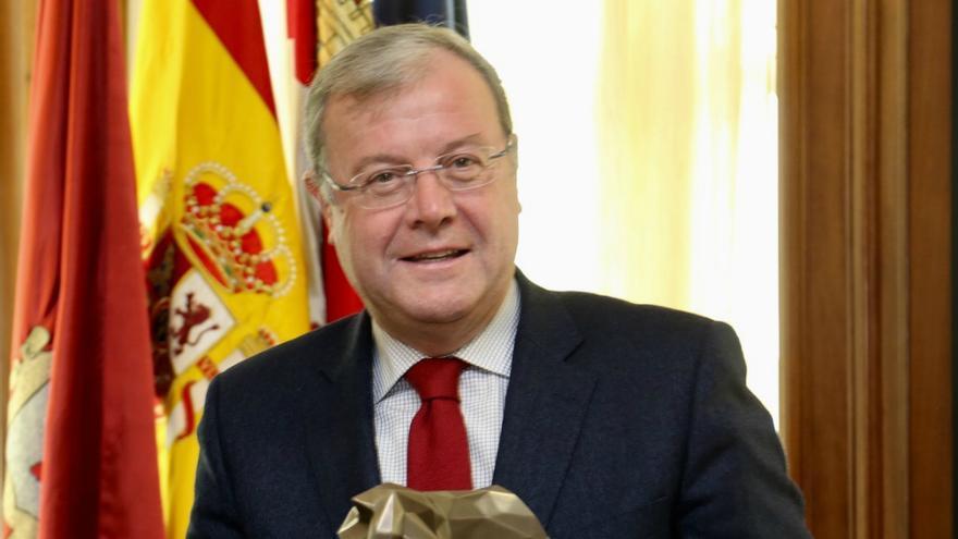 Antonio Silván, alcalde de León