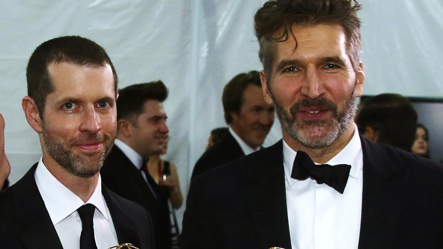 D.B. Weiss y David Benioff en una imagen de archivo