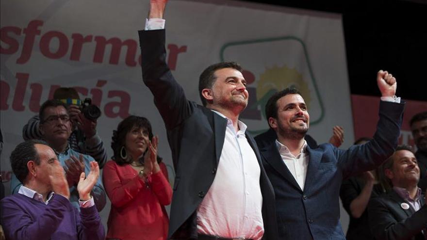 """Anguita pide votar a IU y """"tender la mano"""" a Podemos para lograr """"la unidad popular"""""""