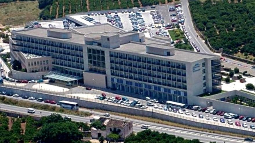 El hospital de la Ribera, en Alzira.