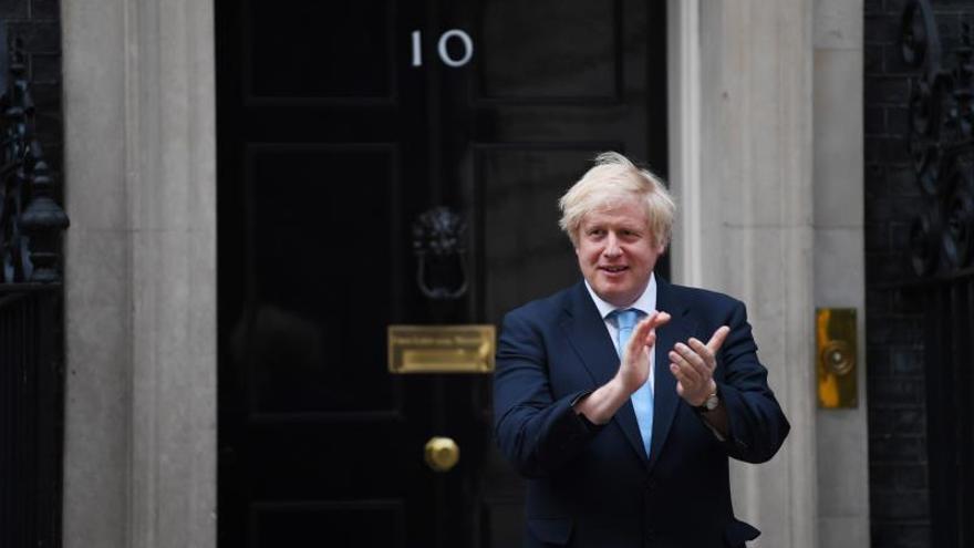 """Johnson pide impulsar """"una nueva era de cooperación"""" sanitaria a nivel global"""