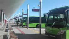 Estación de guaguas de TITSA en el Intercambiador de Santa Cruz de Tenerife