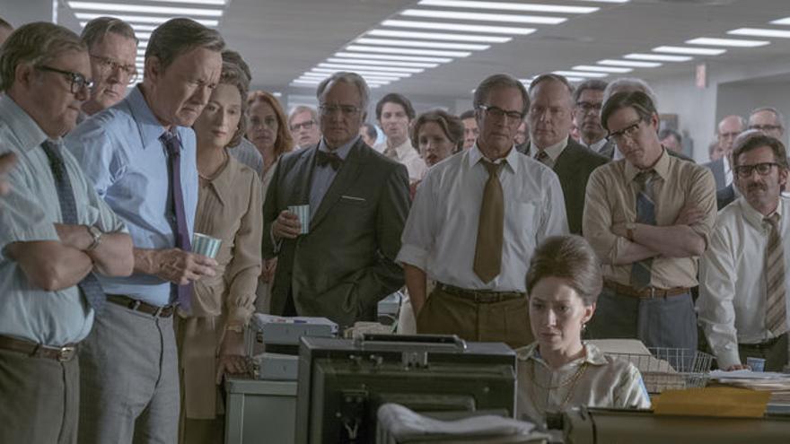 Fotograma de 'The Post. Los archivos del Pentágono', de Steven Spielberg