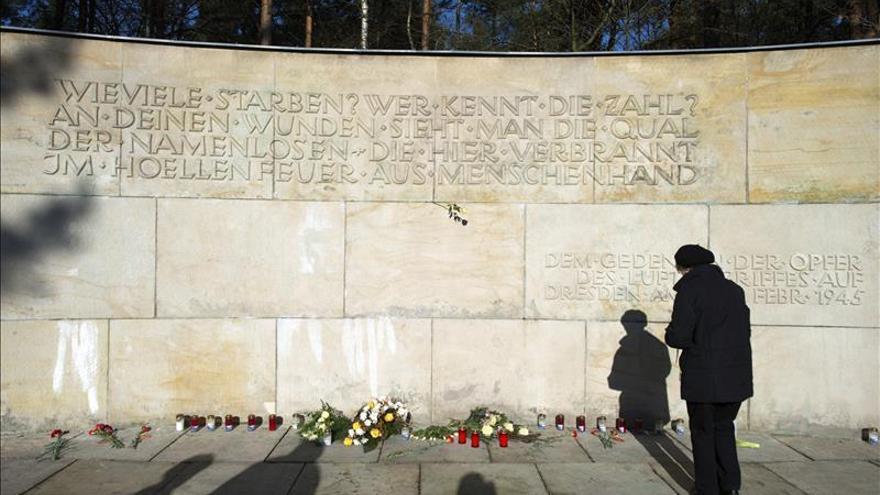 Dresde y los bombardeos, un aniversario lleno de problemas