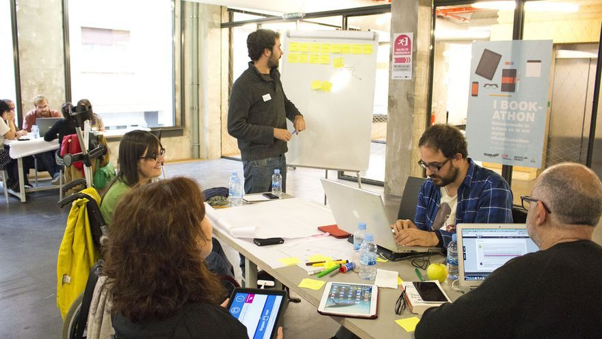 Los participantes del I Bookathon // Foto: TeamLabs MediaLab