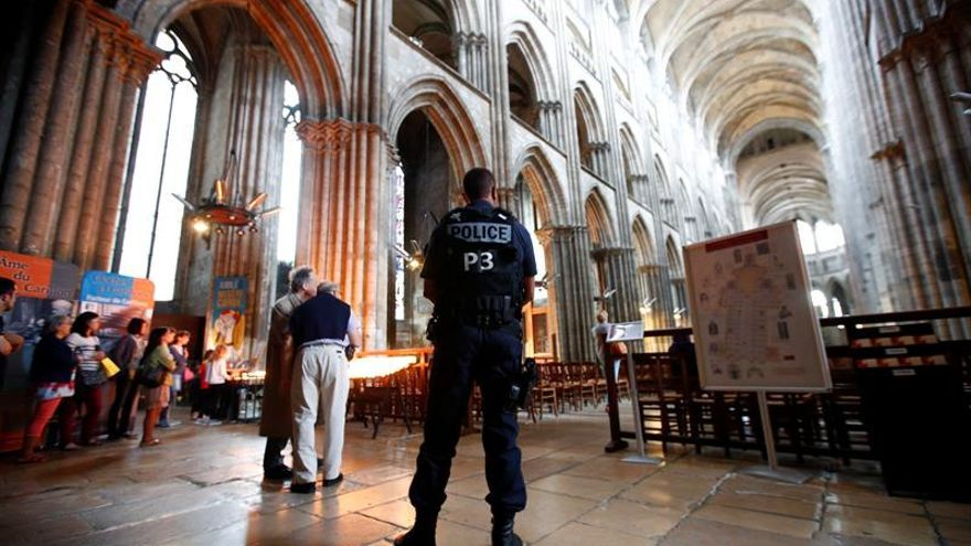 Los yihadistas de Normandía juraron lealtad al EI en un vídeo previo al ataque