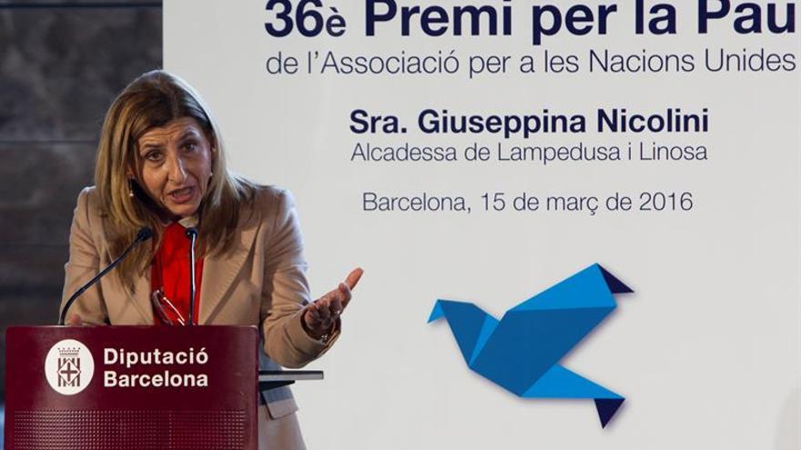 La alcaldesa de Lampedusa piensa que Europa ha declarado la guerra a  los refugiados