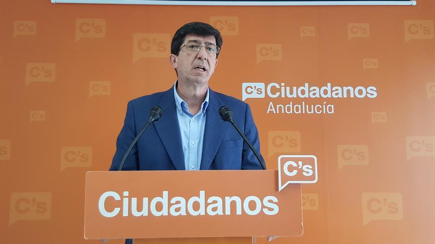 "Marín mantiene que C's está ""preparado"" para entenderse con PP a nivel nacional a la vez que con PSOE en Andalucía"