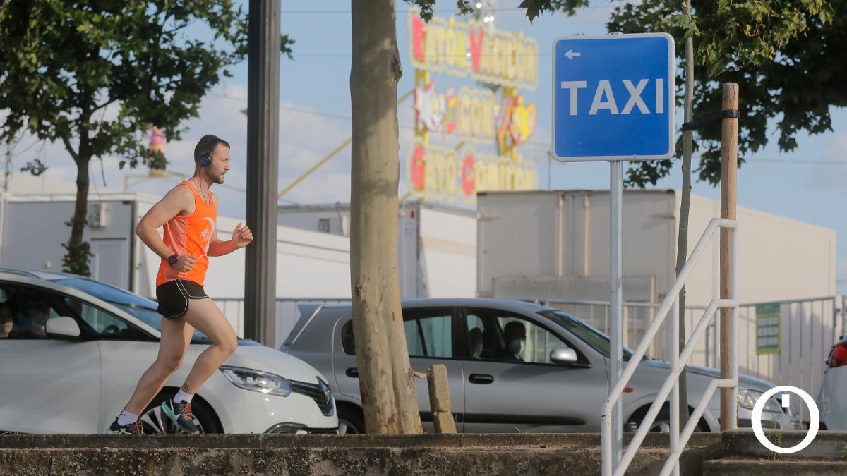 Parada de taxi en el Arenal para Vive Park