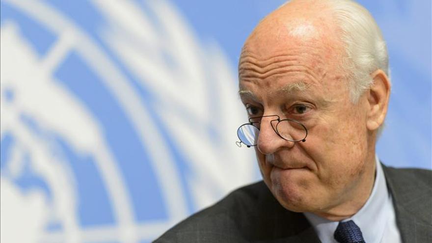 El mediador de la ONU analiza con el principal grupo opositor sirio su plan de paz