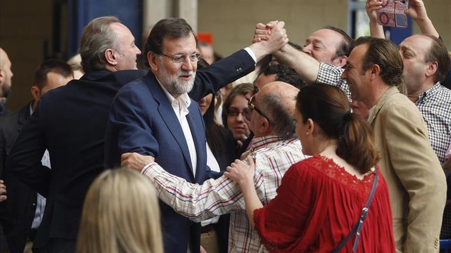 """Rajoy subraya que el PP es """"hoy más necesario que nunca"""" para dar estabilidad"""