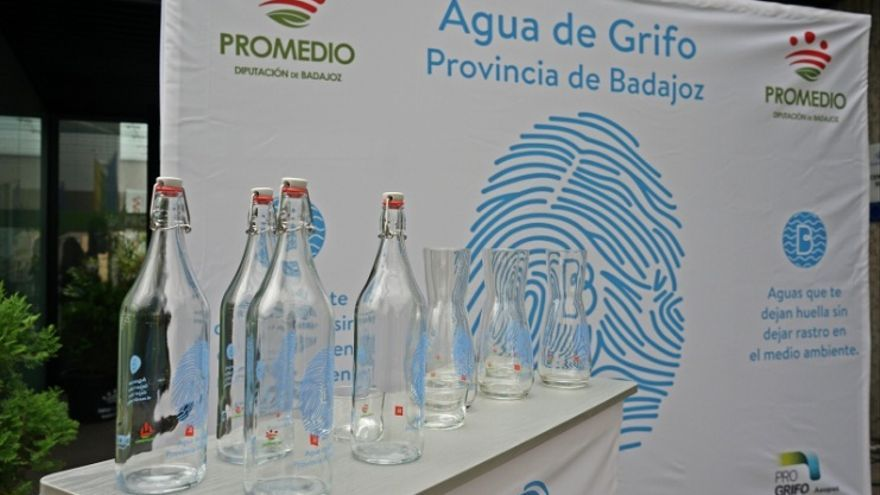 Campaña a favor del agua pública del grifo (PROGRIFO) en la provincia de Badajoz