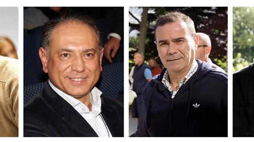 Jorge Ignacio Roca, Enrique Crespo, Esteban Cuesta y José Juan Morenilla