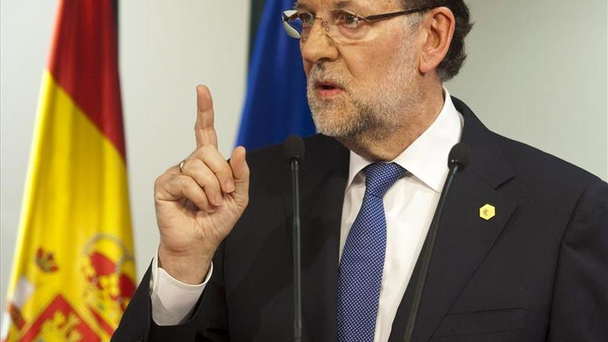 """Rajoy pide valentía a Tsipras y que ceda en sus """"planteamientos maximalistas"""""""