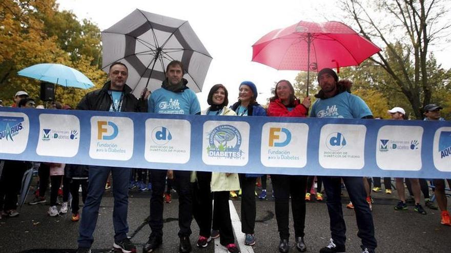 """Más de 4.000 corredores se unen a la """"marea azul"""" para prevenir la diabetes"""