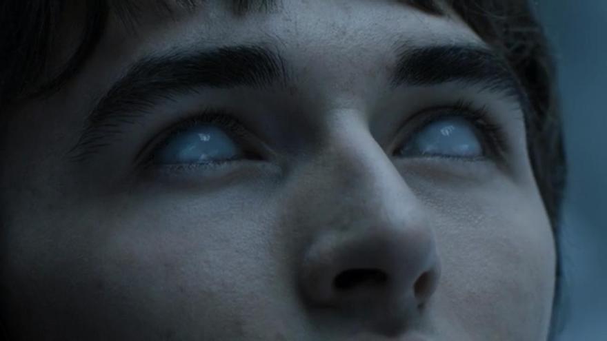 Brandon Stark como el Cuervo de Tres Ojos
