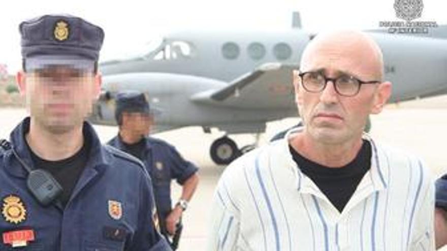Llega a España el etarra Esteban Murillo Zubiri
