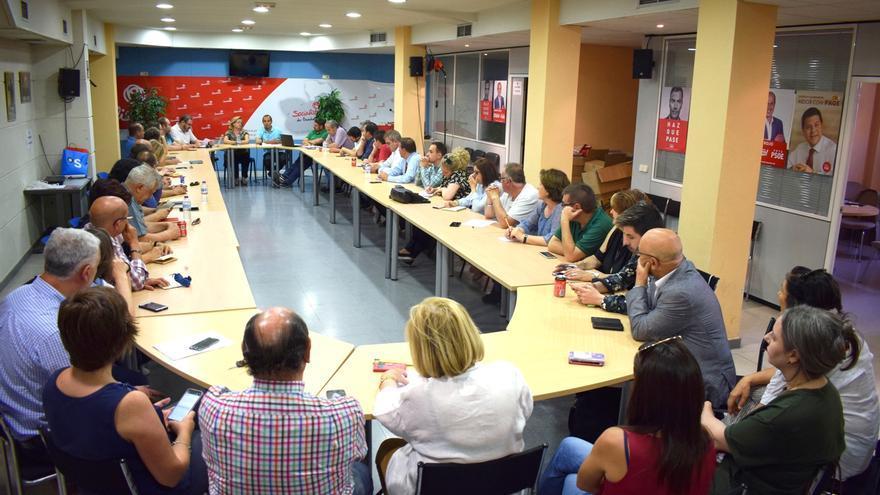 Ejecutiva Provincial del PSOE, este martes
