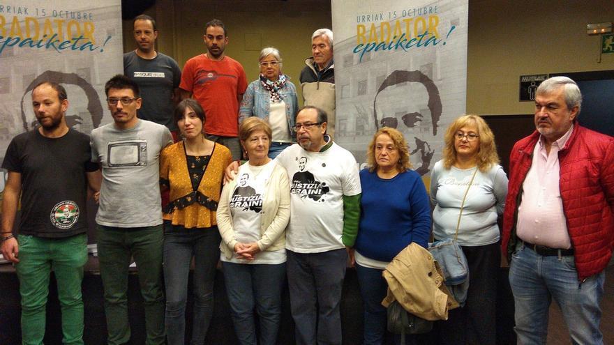 """Familia y amigos de Iñigo Cabacas dicen que una sentencia que no implique condena """"no será asumible"""" por la ciudadanía"""