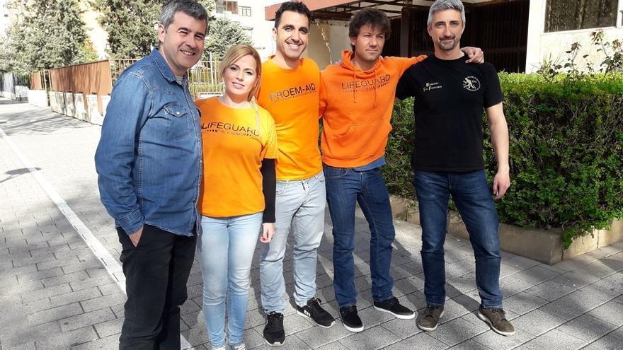 Los miembros de Proem-Aid han narrado su experiencia en Lesbos.