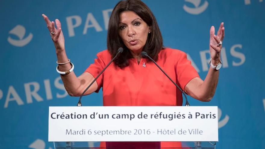 París abrirá su primer campamento de refugiados a mediados de octubre