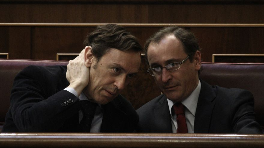 Alonso y Posada elogian el nombramiento de Hernando como portavoz del PP aunque tuvieran otras preferencias