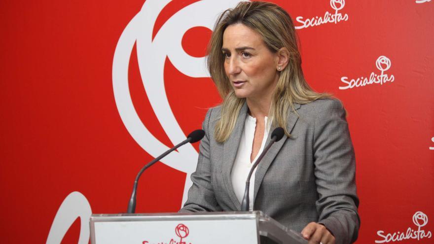 Milagros Tolón, portavoz de Empleo en las Cortes de Castilla-La Mancha (PSOE)