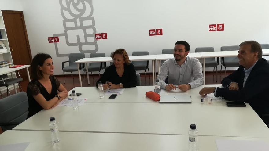 Reunión de la Comisión Negociadora del PSOE en Aragón