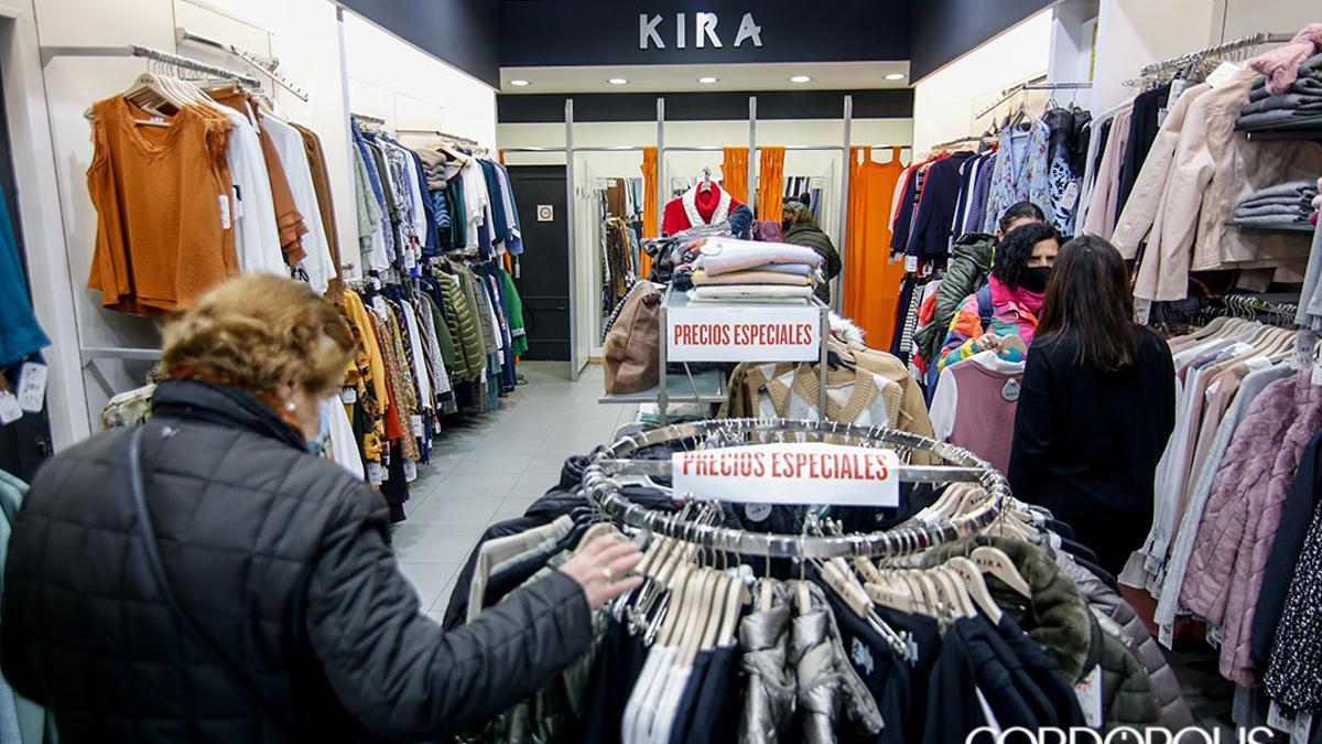 Un comercio de ropa de Córdoba