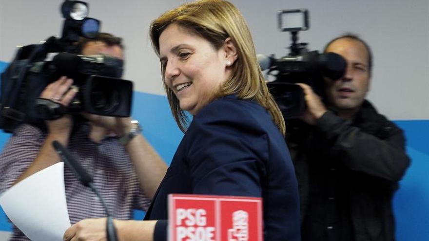 El PSdeG evita valorar los resultados de las encuestas y esperará al recuento