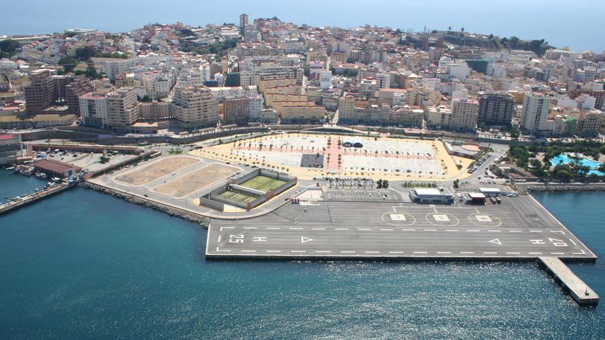 Helipuerto de Ceuta / JOF