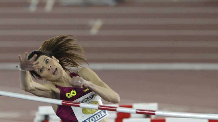 Ruth Beitia logró un nuevo hito en su trayectoria.