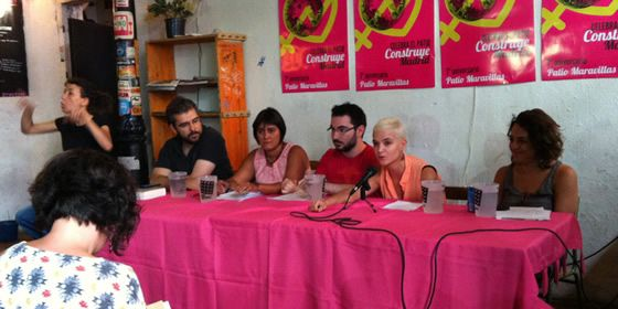 Mesa de municipalismo en el Patio Maravillas|Patricia horrillo