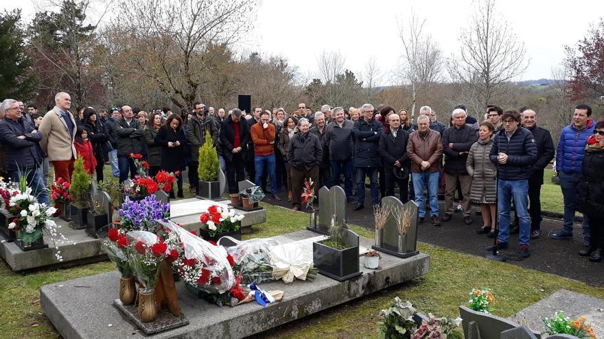 PSE-EE homenajea este fin de semana a los ediles socialistas asesinados por ETA Froilán Elespe y Juan Priede