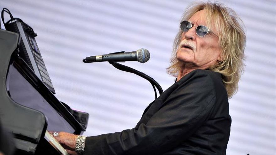 Imagen del cantante francés Christophe en un concierto en julio de 2014.