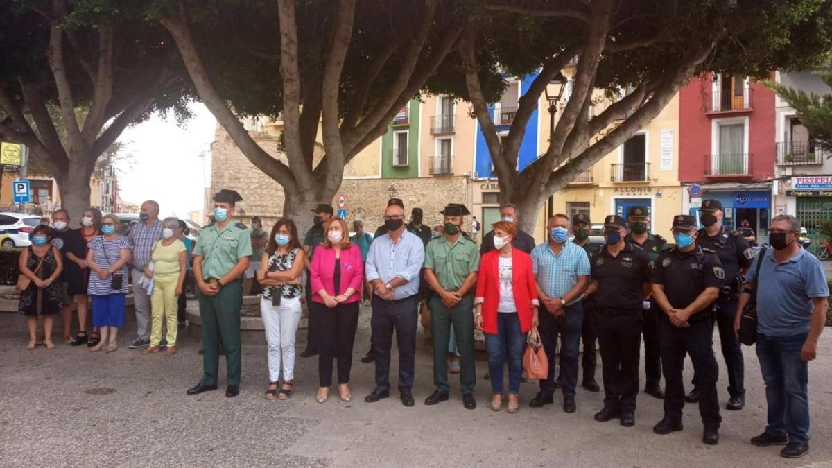 Concentración en La Vila Joiosa por el último crimen machista.