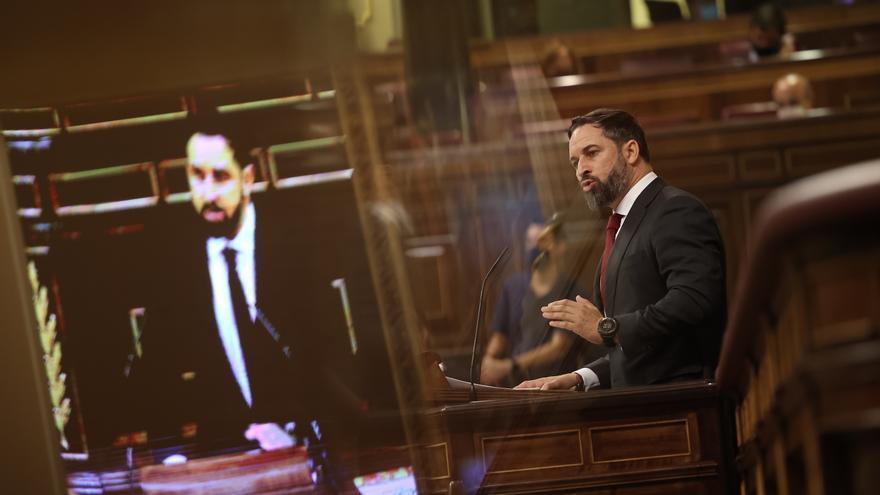 """El discurso de Abascal sobre los trasvases enciende los ánimos en la cabecera del Tajo: """"Habla de defender la España Vacía vaciándola más"""""""
