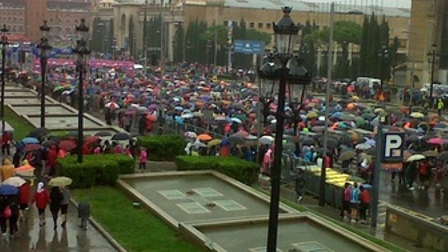 Carrera De La Mujer Contra El Cancer De Mama En Barcelona