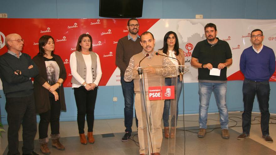 Pablo Bellido, reelecto secretario general del PSOE Guadalajara