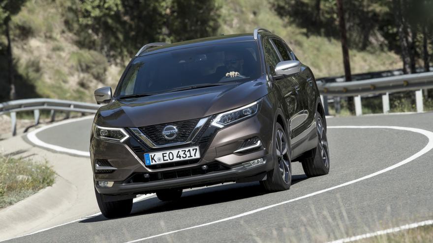 Dinámicamente el Nissan Qashqai mejora de forma  sustancial con el nuevo motor 1.3 Turbo.