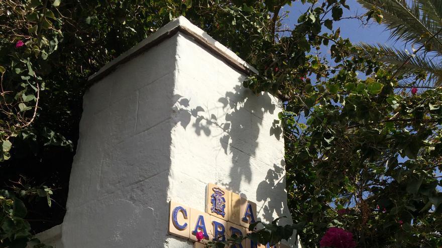 Rincón de la calle Adolfo Cabrera Pinto.