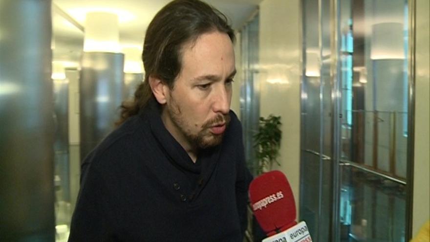 """Pablo Iglesias asegura que sigue trabajando con Errejón y niega que esté """"ausente"""" tras el cese de Pascual"""