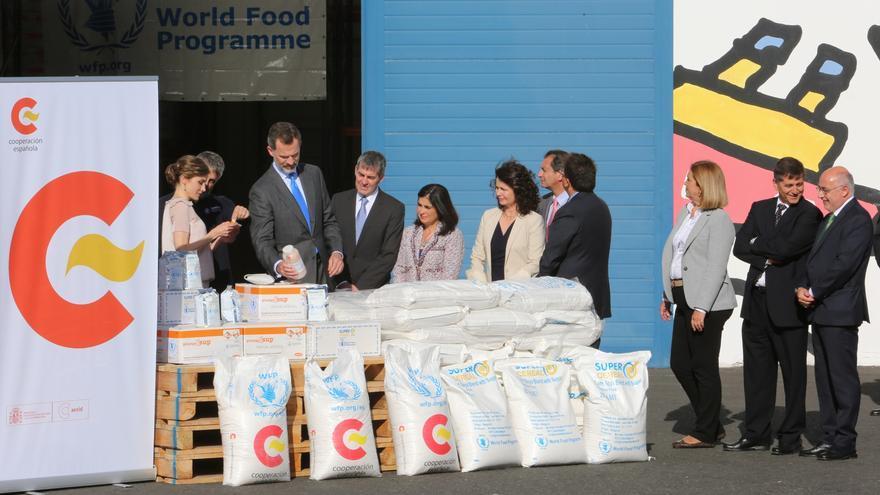Los reyes en el Programa Mundial de Alimentos de la ONU