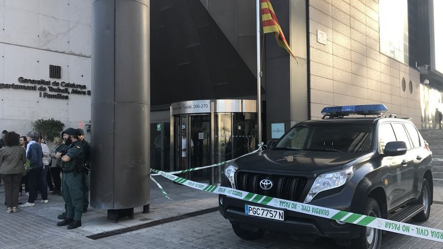 La Guardia Civil busca material informático en la Secretaría General de Asuntos Sociales
