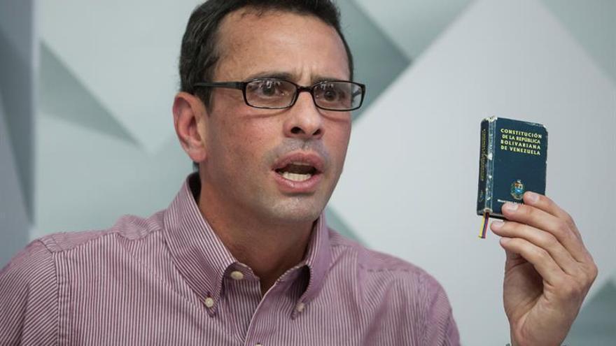 """Capriles dice que el Gobierno """"mató"""" la posibilidad de un diálogo en Venezuela"""